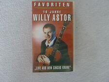 Willy Astor 10 Jahre, Live aus dem Circus Krone, Video VHS, vg
