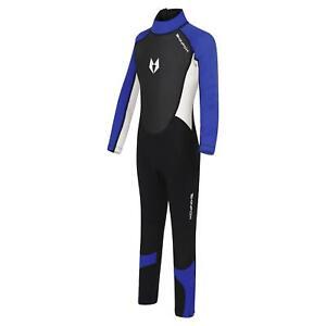 Skinfox Scout 1-16 J. Niños Completo Suit Traje Neopreno de Baño Azul - Color: B