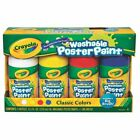 High Quality New Crayola Paint-A-Pack Classic Colours Washable Poster Paint