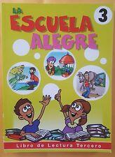 La Escuelita Alegre # 3 Libro de Lectura a Color-196 paginas Educativo Honduras