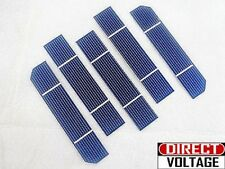 "1""x5"" (125*25mm) Monocrystalline Solar Cell for DIY solar panel. A GRADE"