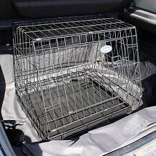 """Petit 24"""" en pente pliable voiture chien chiot pet crate hayon cage de voyage 571"""