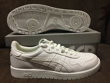 TIGER ASICS JAPAN S SHOES WHITE/BLACK   SZ 13 US NEW DS