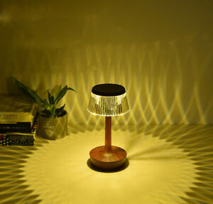 Crystal table lamp, Dimmable LED decorate desk lamp, atmospherelamp Bedside lamp