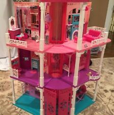 Barbie Dream house with 2 working elevators and accessories