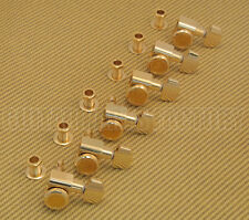"099-0818-200 Fender ""F"" Logo Locking Gold Guitar Tuners Strat/Tele"
