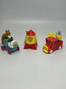 Vintage Animaniacs McDonald's Happy Meal Toys 90's Lot of 3 Cartooon EUC