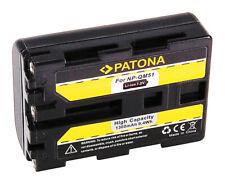 Batteria Patona 7,2V 1300mAh per Sony DCR-PC8,DCR-PC8E,DCR-PC9,DCR-PC9E