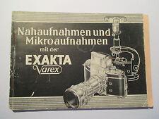 Nahaufnahmen  Exakta Varex II a  Dresden 1960  30 Seiten