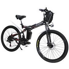 "New Upgrade CLIENSY26""Foldable E-bike City Mountain Electric Bike 36V 350W Red"
