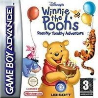 Winnie the Pooh's Rumbly Tumbly Adventure Game Boy Advance Game Used