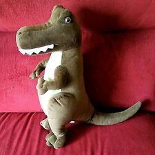 Kohls Jumping Beans Brachiosaurus Dinosaur Brown Stuffed Plush