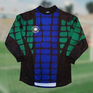 Germany 1994/96 Goalkeeper Soccer Jersey Medium Adidas Camiseta Futbol World Cup