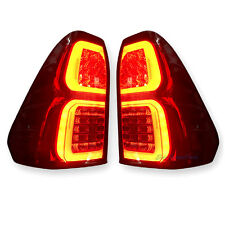 2015 16 17 Toyota Hilux Revo Truck Rear RH Right & LH Left Smoked LED Tail Lamp