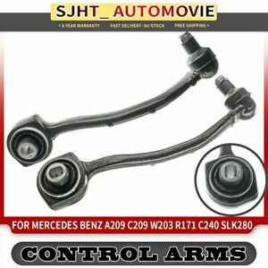2x Lower Control Arm fit Mercedes Benz A209 C209 R171 W203 2000-2011 Front L + R