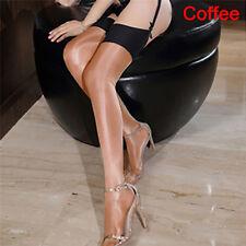 Silk Stockings Thigh Highstocking Shine Multi-color Silkstockings Highqualityssg Coffee