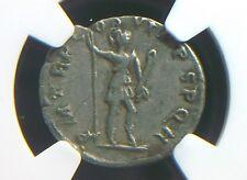 Silver Denarius Roman Emperor Trajan, Virtus Reverse NGC VF 7221