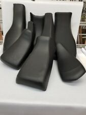 Honda TRX 90  BLACK seat cover COLORED THREAD 2006-AND UP YEARS