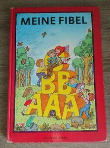 Schulbuch Meine Fibel, von 1993, gebundene Ausgabe, Volk und Wissen Berlin
