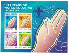 Grenada - 2007 - Boy Scouts Centenary - Sheet Of 4 - MNH