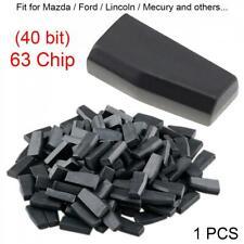 Blank 4D63 40Bits Car Key Transponder Chip Fit for Mazda Ford Lincoln Mecury