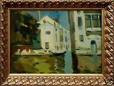 Russische Kunst Valentina Sidorenko geb.Odessa --Venedig- Kunst mit Rahmen xxxx