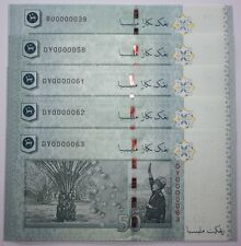 (PL) NEW OFFER RM 50 DY 0000058 UNC 1 PIECE 5 ZERO SUPER LOW ALMOST SOLID NUMBER