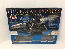 Lionel THE POLAR EXPRESS G Gauge Train Set Model 7-11022 Locomotive 1225 🚂 Read