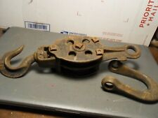 Vintage Pulley Marked Hoist no 14 - See Pics