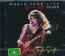 TAYLOR SWIFT SPEAK NOW WORLD TOUR LIVE CD DVD NEW