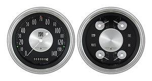 classic instruments 51-52 chevy car gauges ch51at52 speedo quad