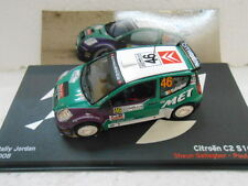 CITROEN C2 S1600 RALLY JORDAN 2008 GALLAGHER ALTAYA IXO 1:43