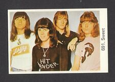 The Sweet Brian Connolly Vintage 1970s Pop Rock Music Card from Sweden #691