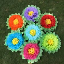 Tissue paper flowers Summer wedding baby shower birthday party home decorations