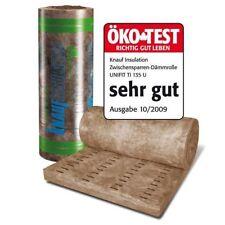 Knauf Klemmfilz 60mm 10,8m² Dämmwolle Mineralwolle Dach Wand Boden