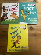 Dr Seuss book bundle