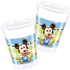 Mickey Baby Getränkebecher, 8er Pack, 200ml, sü�Ÿe Partybecher