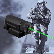 Green Laser Beam Dot Sight Scope Weaver Picatinny Quick Release Rail Mount Hunt