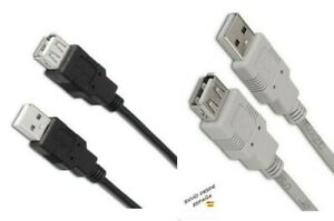 Cable Alargador USB 2.0 AM/AH