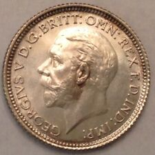 - 1927 Great Britain Sixpence Gem Proof George V - 15,000 Minted