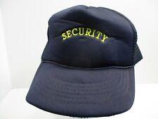Security Vintage Mesh Snap Back Hat
