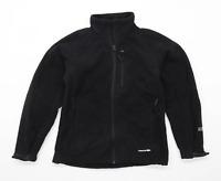 Trespass Mens Size XS Fleece Black Midweight Jacket