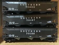 HO Scale Southern Railway Three Bay Offset Coal Hoppers 3 Cars by RoundHouse