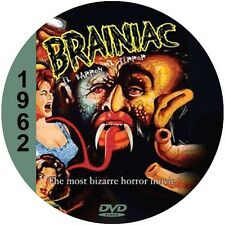 "The Brainiac (1962) Classic Horror and Drama CULT ""B-Movie"" DVD"