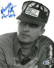 MAURICE PETTY SIGNED AUTOGRAPHED 8x10 PHOTO + HOF 2014 NASCAR LEGEND BECKETT BAS