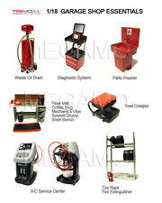 1/18 Snap On style Garage Professional Tool Set Diorama Shop Essentials TSM
