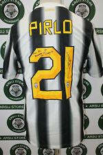 maglia calcio PIRLO JUVENTUS TG S 2011/12 shirt maillot trikot camiseta SIGNED