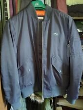 Lacoste L!VE Bomber Jacket Blue, Worn Once.. Excellent Condition! NWOT Size 52
