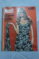 PARIS MATCH N°1434 brigitte bardot Mme carter ursula andress tabarly