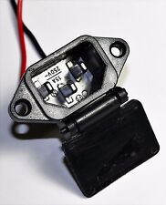 48 Volt Female Charging Port For Electric Scooter Panterra E Bike With PC Plug.